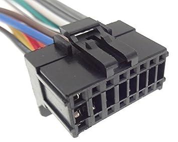 Pioneer (12) de la radio del coche de cable adaptador de radio enchufe ISO: Amazon.es: Informática