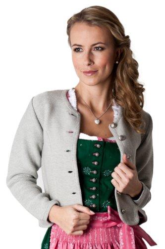 Ludwig und Therese Damen Trachtenjacke Greta grau 1428 36