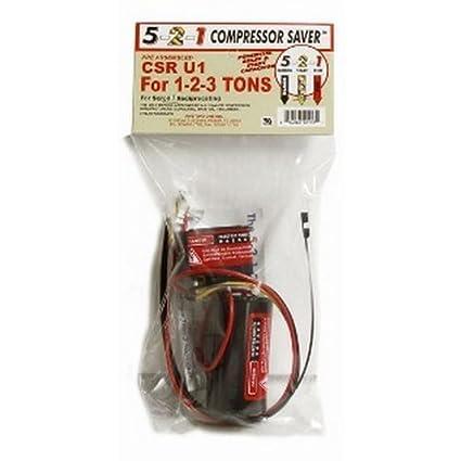 Five Two One Inc CSR-U1 Condensador de Compresor de Arranque Duro