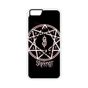 iPhone 6 Plus 5.5 Inch Cell Phone Case White Slipknot SLI_670528
