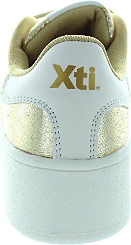 XTI  46986, Baskets mode pour femme or doré