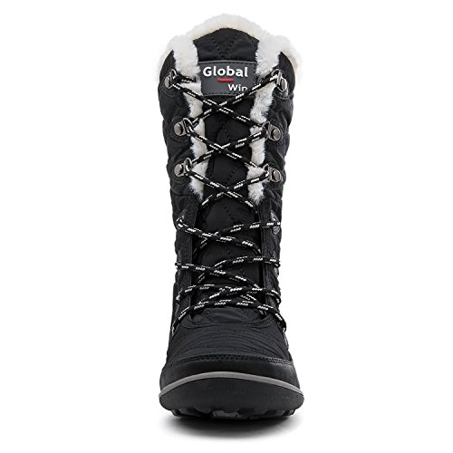 Globalwin Womens 1731 Snow Boots Invernali 37 Nero