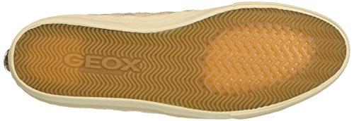 Geox D Giyo, Zapatillas para Mujer Beige (Skin C8182)