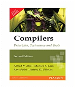 Ullman pdf design of compiler by principles