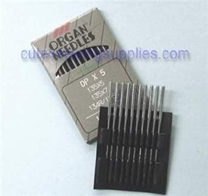 metric 100 100 Organ 135X5 DPX5 134R SY1955 Sewing Machine Needles Size 16
