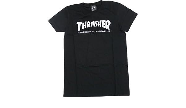 009a25b7 Amazon.com : Thrasher Mag Logo Girls T-Shirt [Large] Black : Sports &  Outdoors