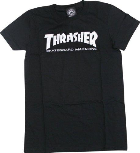 d842c3008 Amazon.com : Thrasher Mag Logo Girls T-Shirt [Large] Black : Sports ...