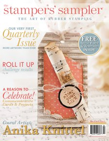 The Stampers Sampler - The Art of Rubber Stamping - Spring 2012 (Volume 19 Issue 3)