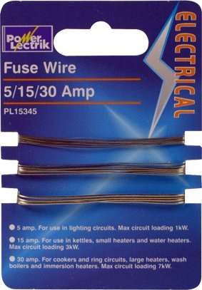 5 15 30 amp fuse wire on card amazon co uk lighting