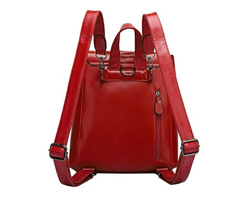 Fashion Shoulder Bag Wine Camping Red Tom Shoolbag Backpack Women Casual Clovers Bag z8vHBqI6