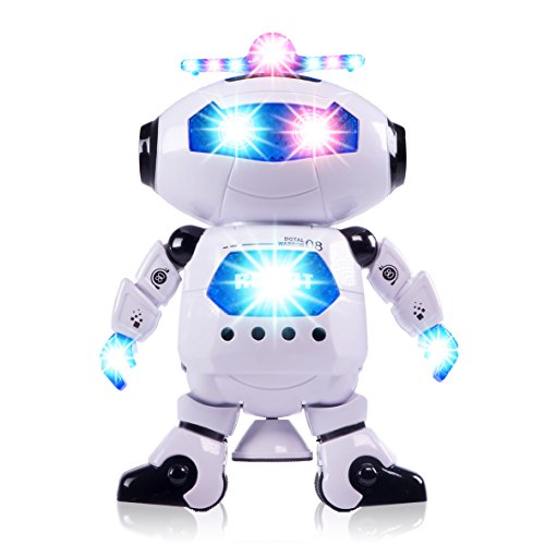 Boys Toys Electronic Walking Dancing Robot Toy - Toddler Toys - Best Gift for Boys and Girls 3 years old