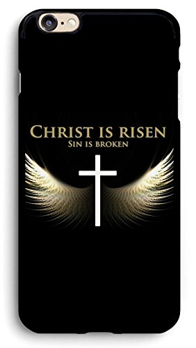 PROEVER Angel Wings and Cross iPhone Case,PC Hard Case for iPhone (6 Plus/6s Plus)