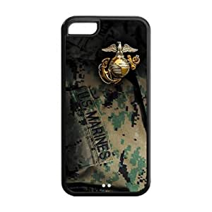 Customize US Marine Corps Series Back Case for iphone 5C YX-1