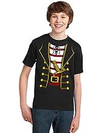 Pirate Buccanneer   Jumbo Print Novelty Halloween Costume Youth T-shirt