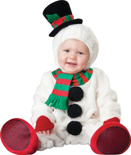Silly Snowman Infant Costume (12-18 Mos) (Snowman Make Up)