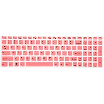 Leze - Ultra Thin Silicone Keyboard Cover Protector for Lenovo Ideapad Flex 3 15 , Ideapad Y700 15 & 17, 700 15 & 17, 500 15, 500s 15, ...