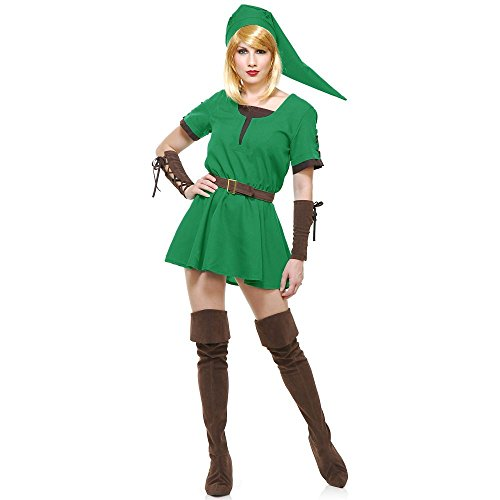 Warrior Princess Costume Size Small (Elf Warrior Princess Adult Costume - Small)