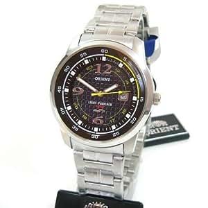 Orient Light Powered CVD0U001D0 4000 - Reloj solar de pulsera para hombre