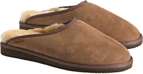 Men's Overland Clyde Australian Merino Sheepskin Mule Slippers