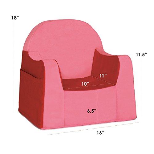P Kolino Little Reader Chair Red Furniture Baby Toddler