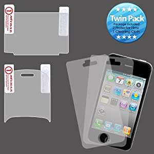 Clear Twin Pack Screen Protector for LG Octane VN530 B33J