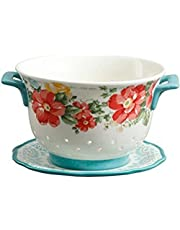 The Pioneer Woman Berry Bowl and Drip Plate