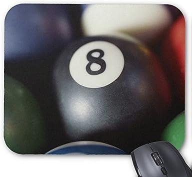 Bolas personalizadas en una mesa de billar 2 del cojín de ratón ...