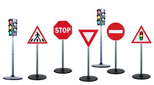 MMP Living Toy Traffic Light & Crosswalk Signal (Deluxe Set)