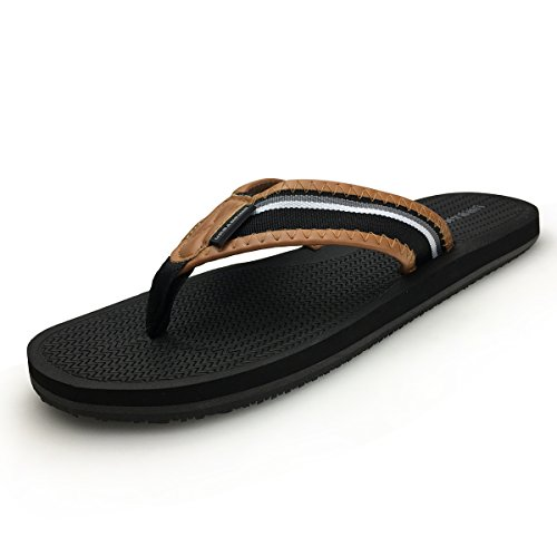 URBANFIND Men' Retro British Style Flip Flops