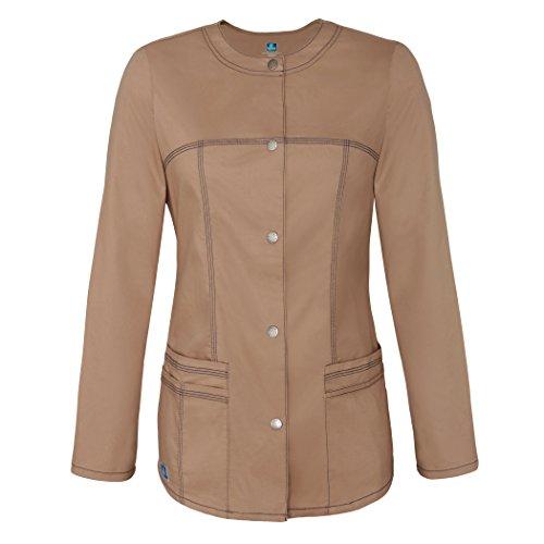Juniors Long Twill Jacket - 4