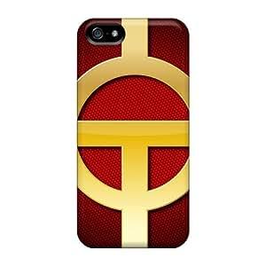 New Design Shatterproof BkzJQkC883TCXEx Case For Iphone 5/5s (red Tornado)