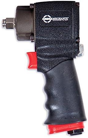 Omega Mechanix M2061 Pistola Neumática, 1/2 Pulgadas