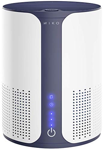 Miko Air Purifier For Home Medical Grade, Covers 400 Sqft, H13 True HEPA Filter, Multiple Speeds, Quiet, Ozone Free…