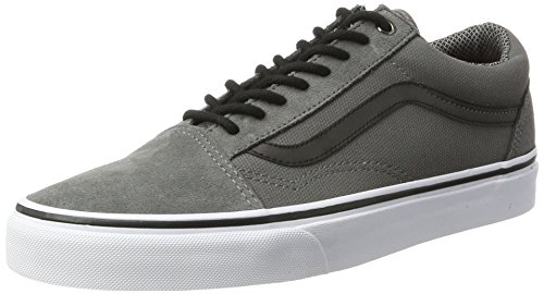 Vans Old Skool Reflective Sneakers (Pewter) Men's Classic Skate Shoes