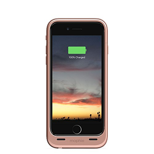 mophie juice pack air - Slim Protective Mobile Battery Pack Case for iPhone 6/6s - Rose Gold