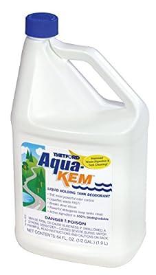 Thetford 64 Ounce Aqua-KEM Original-Holding Tank Treatment-Deodorizer-Waste Digester-Cleaner-64 oz Bottles 24260