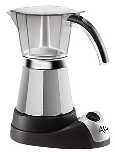 GEFU espresso Fornello Per Emilio 4 tazze in acciaio inox
