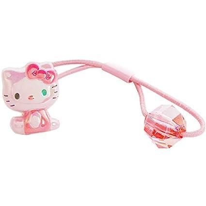 Amazon.com  Sanrio Hello Kitty Design Ponytail Holder One Hair Tie  Toys    Games 3ea05167918