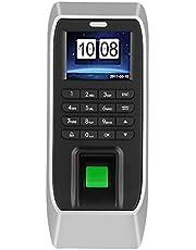 Sistema de control de acceso máquina de asistencia de huellas dactilares, Biométrico inteligente, 2.4 pulgadas TFT LCD inalámbrico estandarizado y contraseña