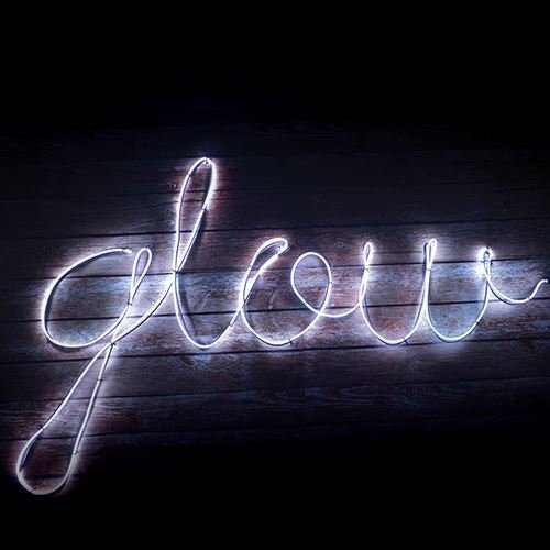 Make Your Own Neon Effect Sign Light Flexible String White 3 Metres (Make Your Own Neon Effect Sign Kit)