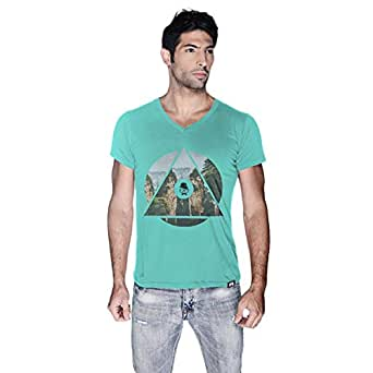 Creo China Mountain T-Shirt For Men - L, Green