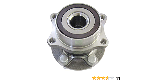Left and Right Included with Two Years Warranty - Two Bearings 2.5L H4, 3.0L H6 2009 fits Subaru Outback Front Wheel Bearing and Hub Assembly