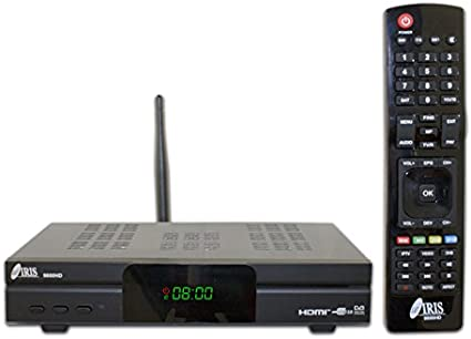 IRIS 9800 HD - Receptor de TV por satélite (Full HD, WiFi) color ...