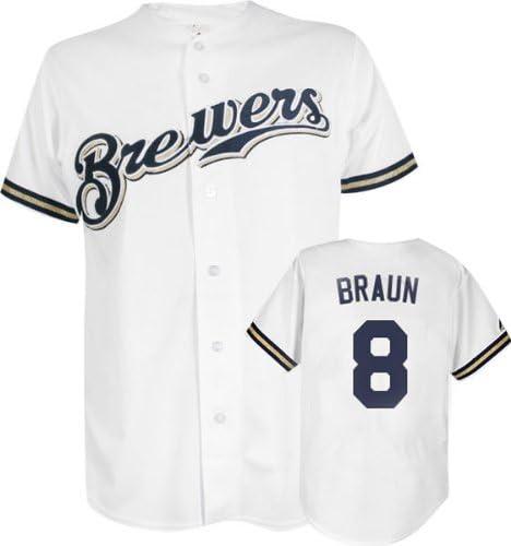 Ryan Braun Milwaukee Brewers MLB Replica Jersey