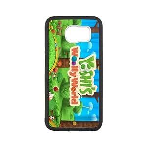 Samsung Galaxy S6 Cell Phone Case Black_Yoshi's Woolly World_007 Glmyy