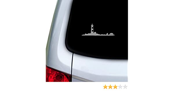 Doors Hoods Red StickAny Car and Auto Decal Series Lighthouse Birds Flying Sticker for Windows