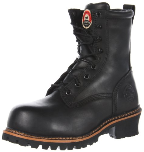Irish Setter Hombres 83818 8 Bota De Trabajo No Metálica Con Punta De Seguridad Negra