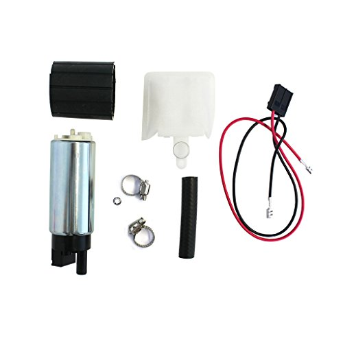 CUSTOM GSS342 255LPH Electric Intank Fuel Pump Replacement With Strainer For Honda/Subaru (1997 Chevy Blazer Fuel Pump compare prices)