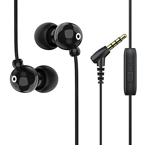 Earbuds with Microphone In-Ear Headphones Noise Isolation Headsets with Total Soft Silicone for Android Phones[EH134] by Fedciory