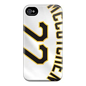 Iphone 4/4s Case, Premium Protective Case With Awesome Look - Pittsburgh Pirates